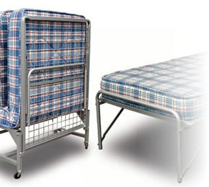 Folding Single Hire Bed